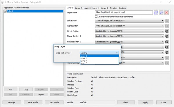 How to use/configure X-Mouse Button Control? - TibiaQA